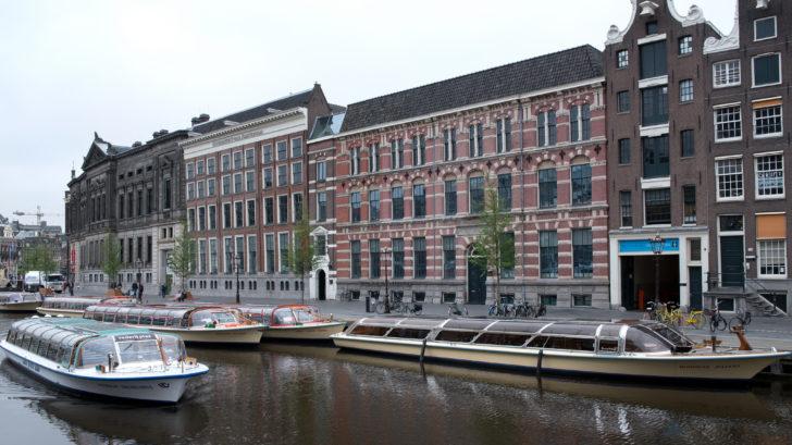 Pand van de Bijzondere Collecties van de Universiteit van Amsterdam.