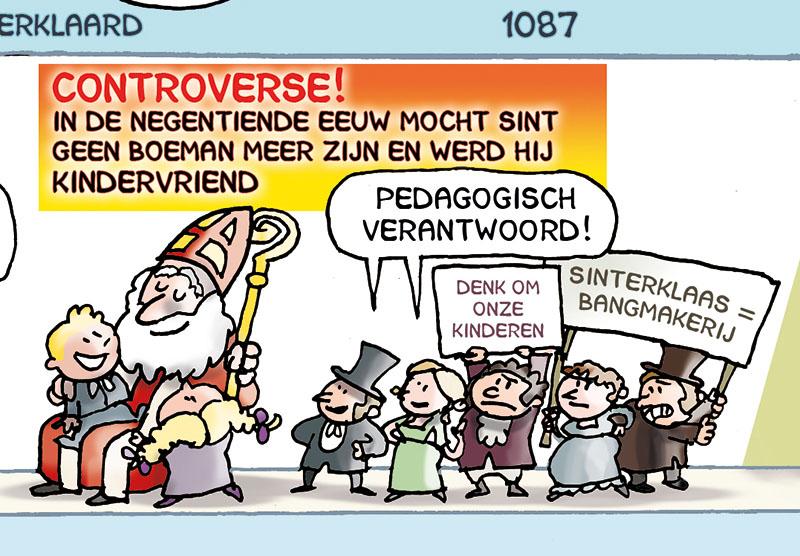 De geschiedenis van Sinterklaas