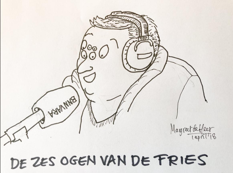 De Zes Ogen van de Fries: striptekenaars