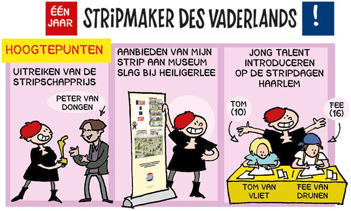 1 jaar Stripmaker des Vaderlands