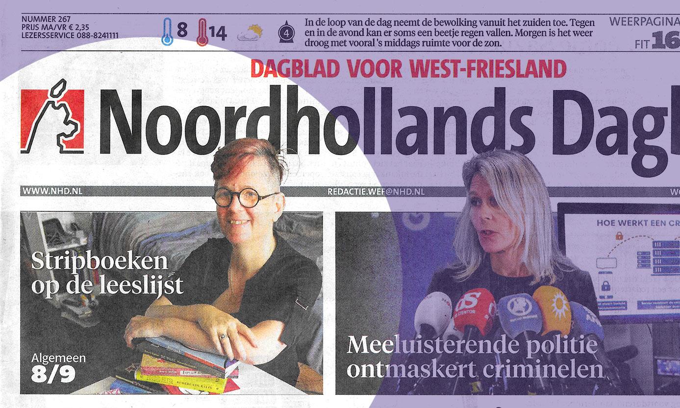 Noordhollands Dagblad: 55 meesterstrips voor op de leeslijst