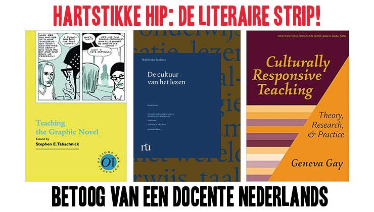 Hartstikke hip: de literaire strip!