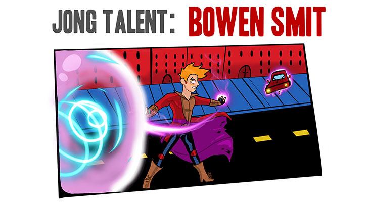 Jong Talent: Bowen Smit