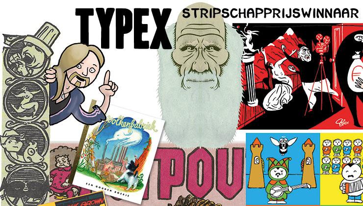 Typex, winnaar Stripschapprijs