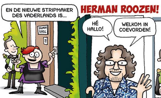 De nieuwe Stripmaker des Vaderlands