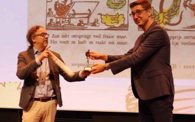 Stripmaker des Vaderlands reikt de Stripschapprijs uit